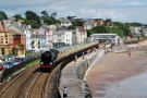 Dawlish  34046 Braunton  the down Torbay Express  13-7-14 (4) for website