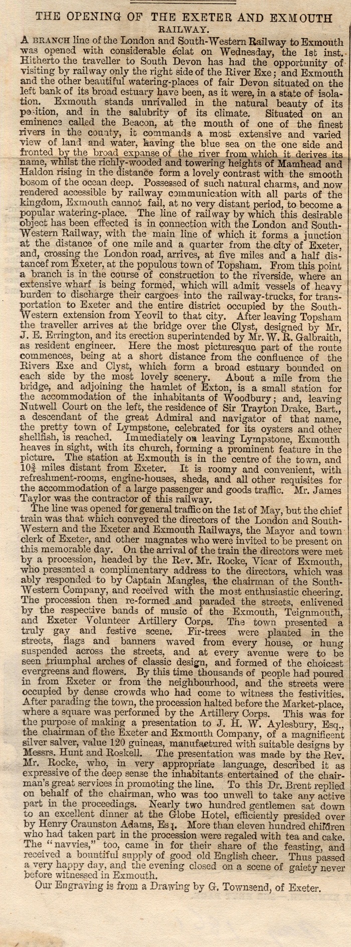 From the Illustrated London News, May 1861 - cick on image to see whole article